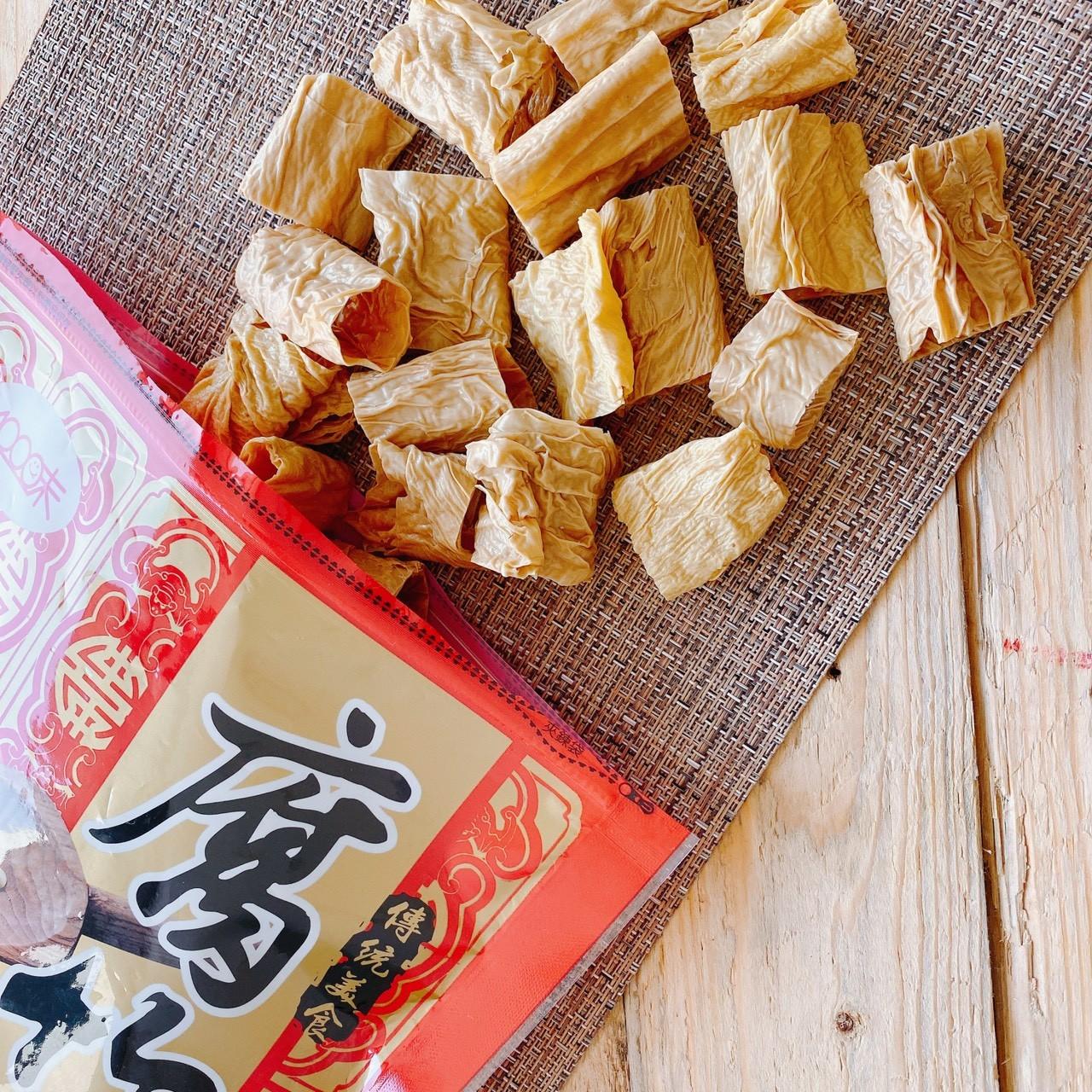 【30天窈窕必備】無油腐竹/千張《煮麵/火鍋/減醣》- 6包賣場